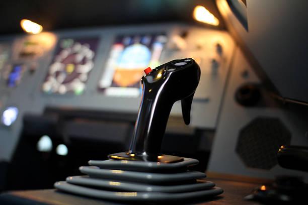 Airbus Jet Cockpit Side Stick – Foto