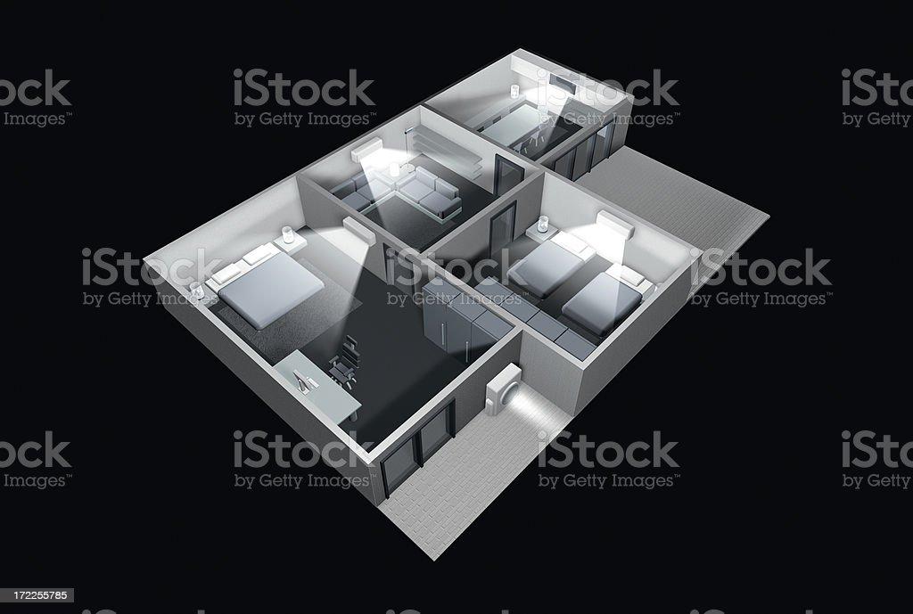Aire condición hogar - foto de stock