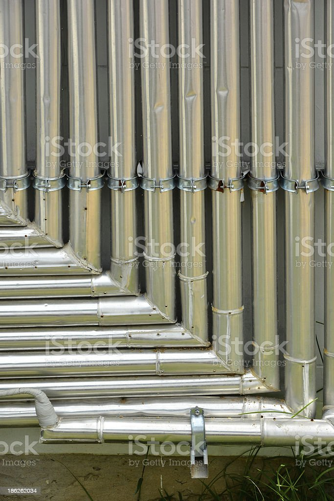airconditioning vents royalty-free stock photo