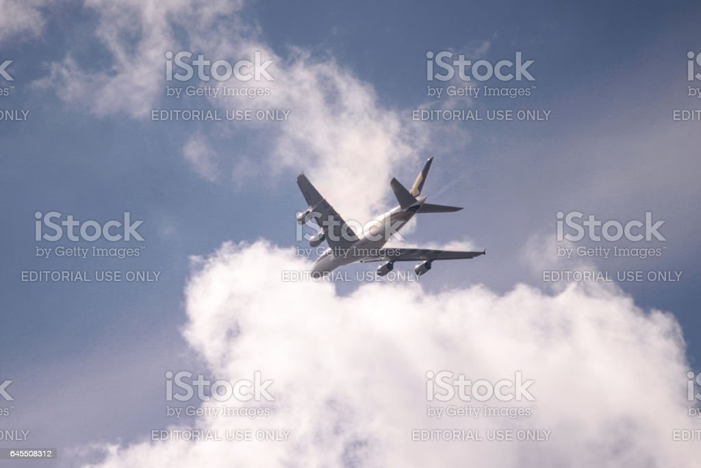 Avion Airbus A380 - Photo