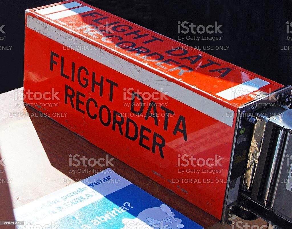 Aircraft Black Box. stock photo