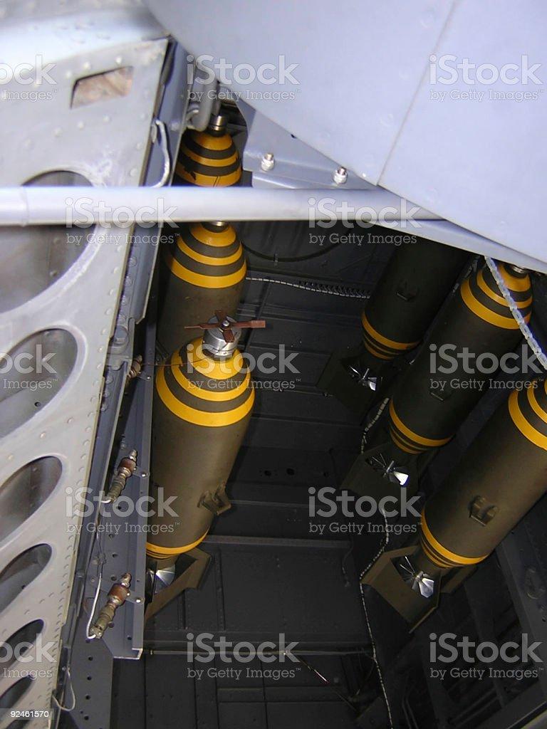 Aircraft Bomb Bay I stock photo