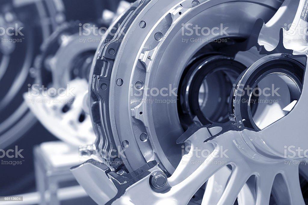 aircraft brakes stock photo