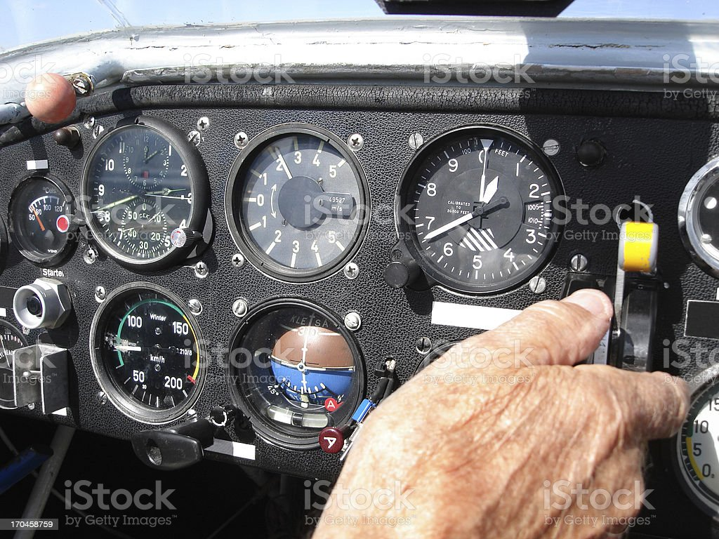 Aircraft Cabine (Click for more) stock photo