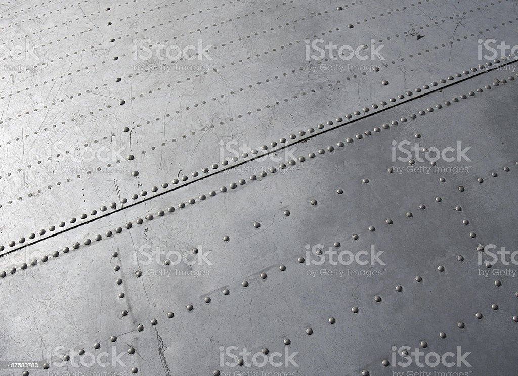 Aircraft closeup. stock photo