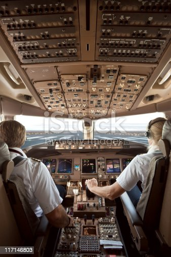 istock Aircraft Cockpit 117146803