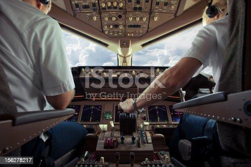 istock Aircraft Cockpit 156278217