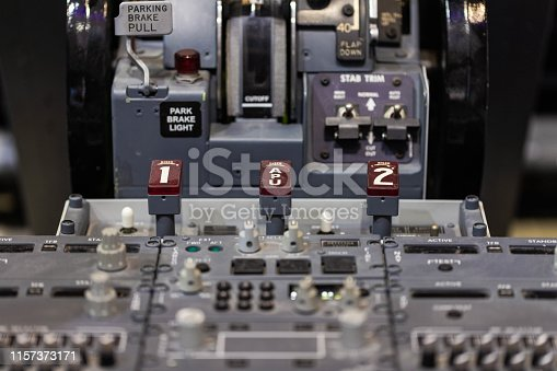 Aircraft Driving console