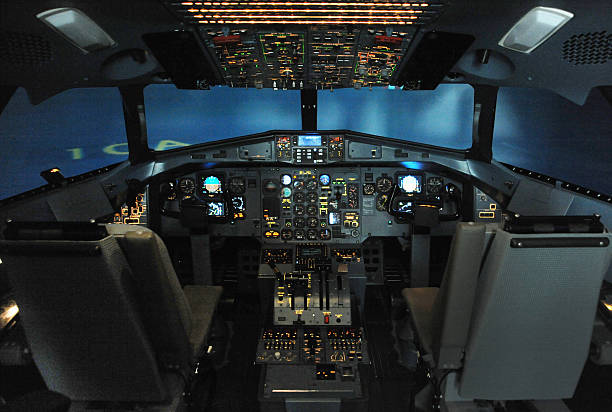 Best Flight Simulator Stock Photos, Pictures & Royalty-Free Images
