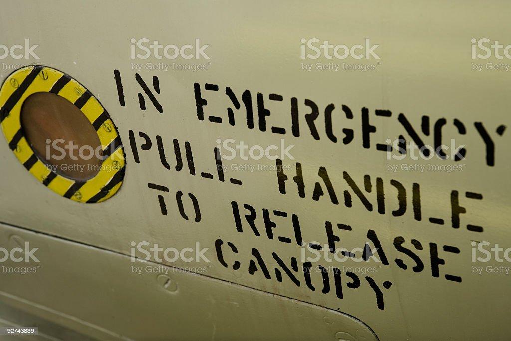 Flugzeuge fusilage 01 Lizenzfreies stock-foto