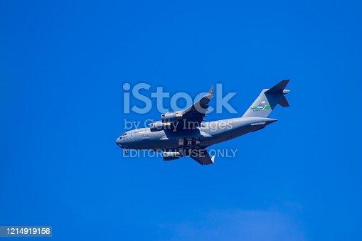 istock US aircraft Hercules C-130 near Ramstein Airbase 1214919156