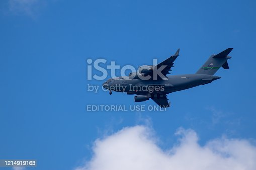 istock US aircraft Hercules C-130 near Ramstein Airbase 1214919163