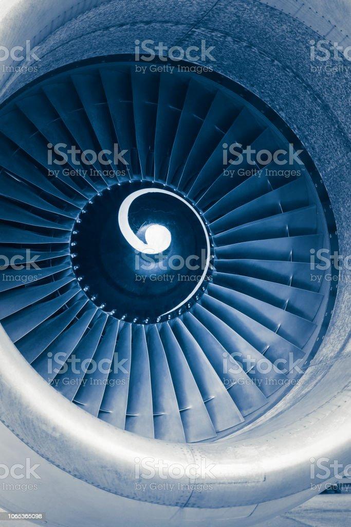 Flugzeug Jet-Engine turbine – Foto