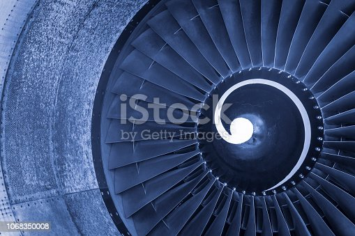 884224094 istock photo Aircraft jet engine turbine 1068350008
