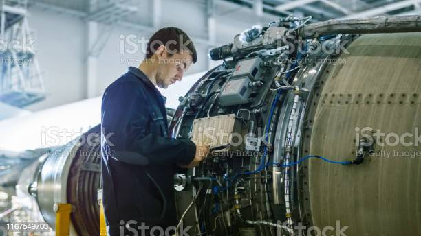 Aircraft maintenance mechanic inspecting and working on airplane jet picture id1167549703?b=1&k=6&m=1167549703&s=612x612&h= 9q5jsxfg2h0jby0mklhv ok22rrgevcend61xtwivm=