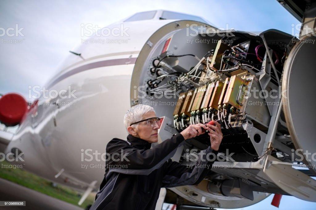 Flugzeuge Mechaniker – Foto