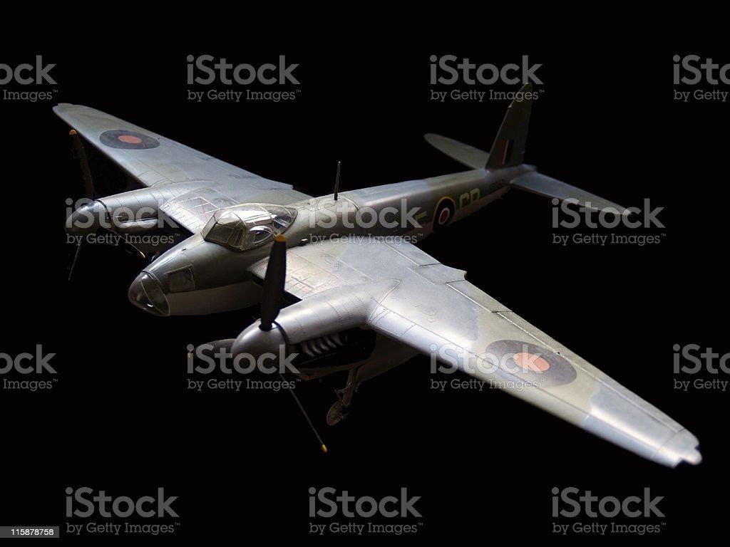 Zanzara RAF modello di aereo - foto stock