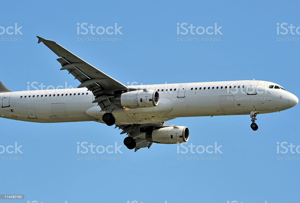 Aircraft royalty-free stock photo