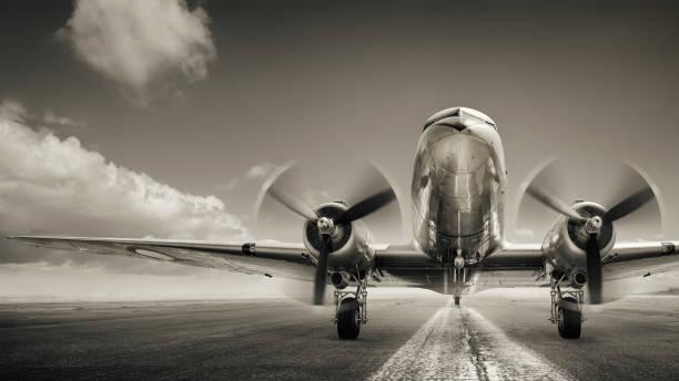 vliegtuigen - luchtvaartindustrie stockfoto's en -beelden