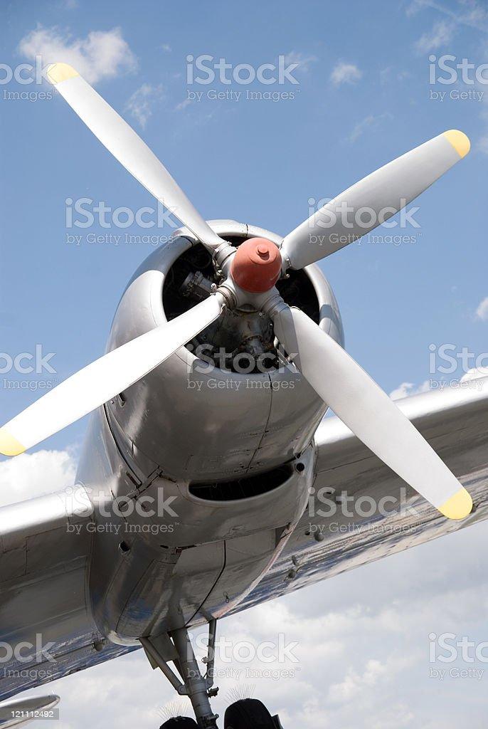 aircraft stock photo