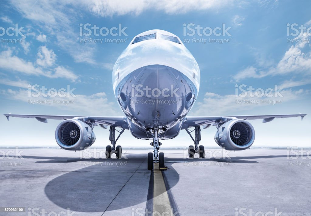 aircraft stock photo
