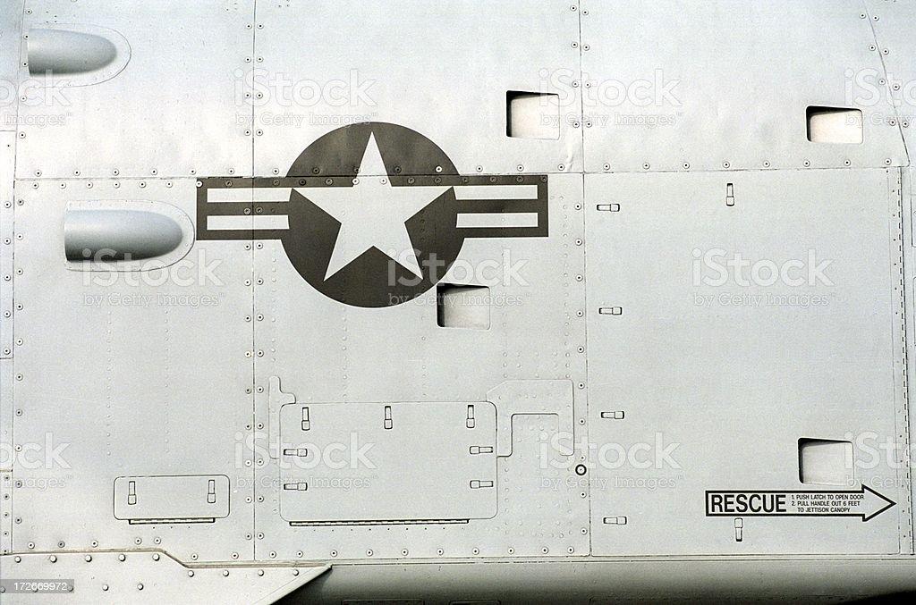 Aircraft Skin royalty-free stock photo