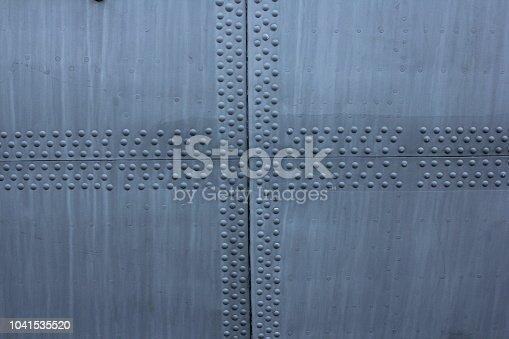 istock Aircraft skin texture 1041535520