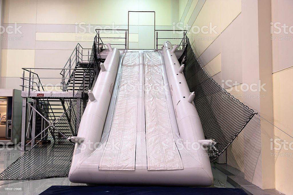 Aircraft Slide Raft royalty-free stock photo
