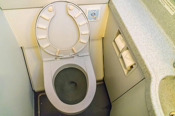 Aircraft toilets – Foto