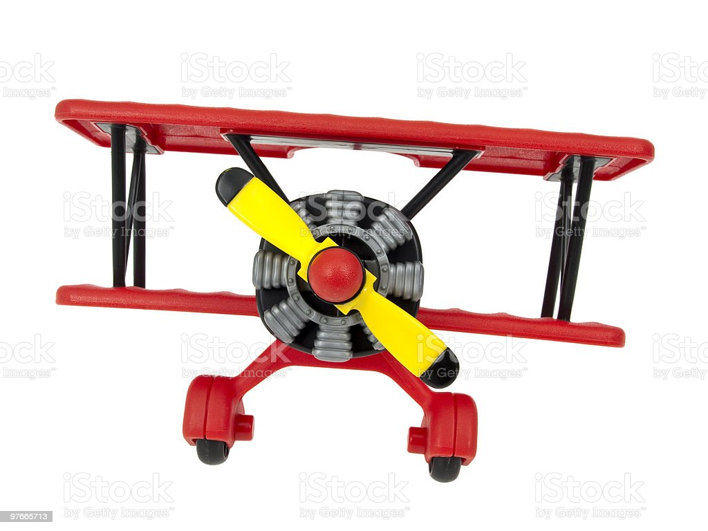 Aircraft toy royalty-free stock photo