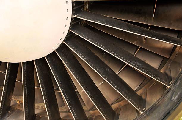 Flugzeuge Turbine-Blades – Foto