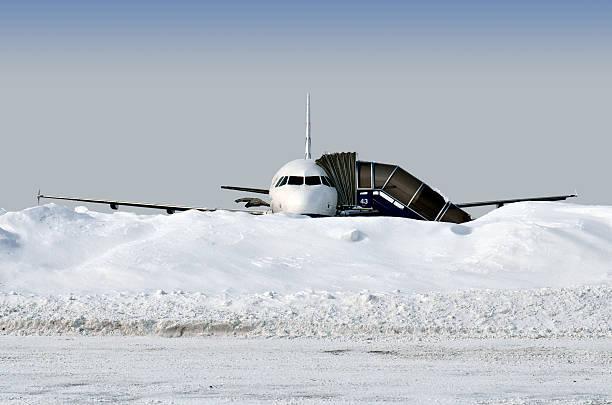 Flugzeug auf Sie warten – Foto