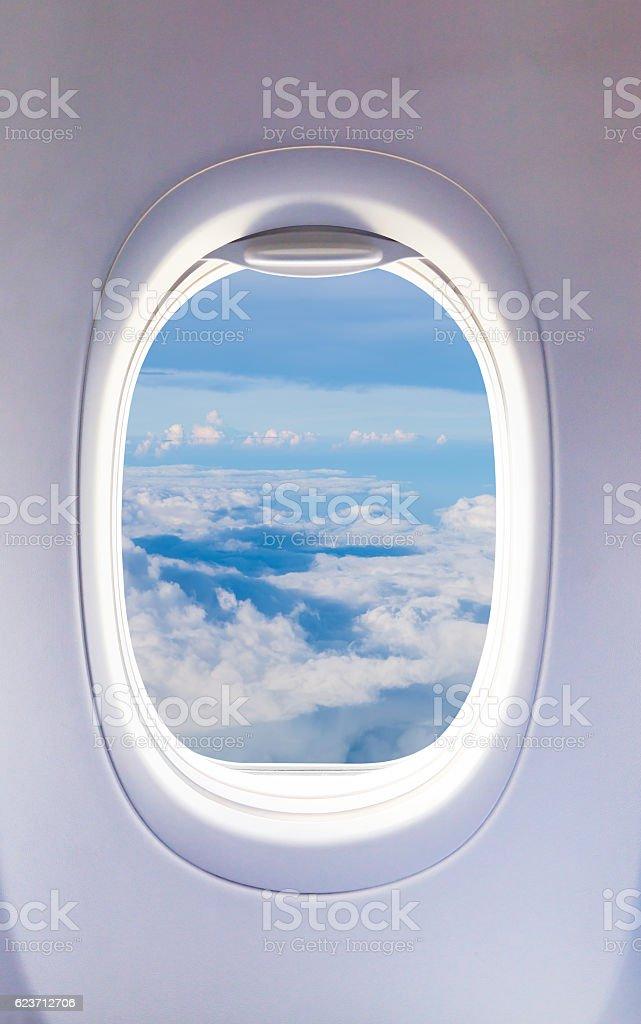 Flugzeug Fenster, Flugzeug-Fenster – Foto