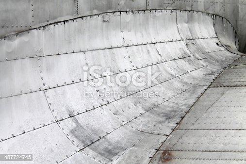 istock Aircraft wing 487724745