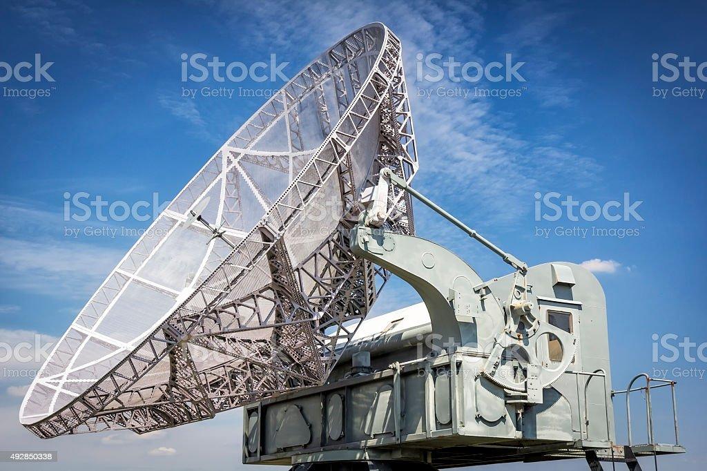 Air-Defense Search Radar stock photo