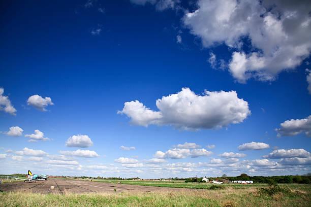 Airfield stock photo