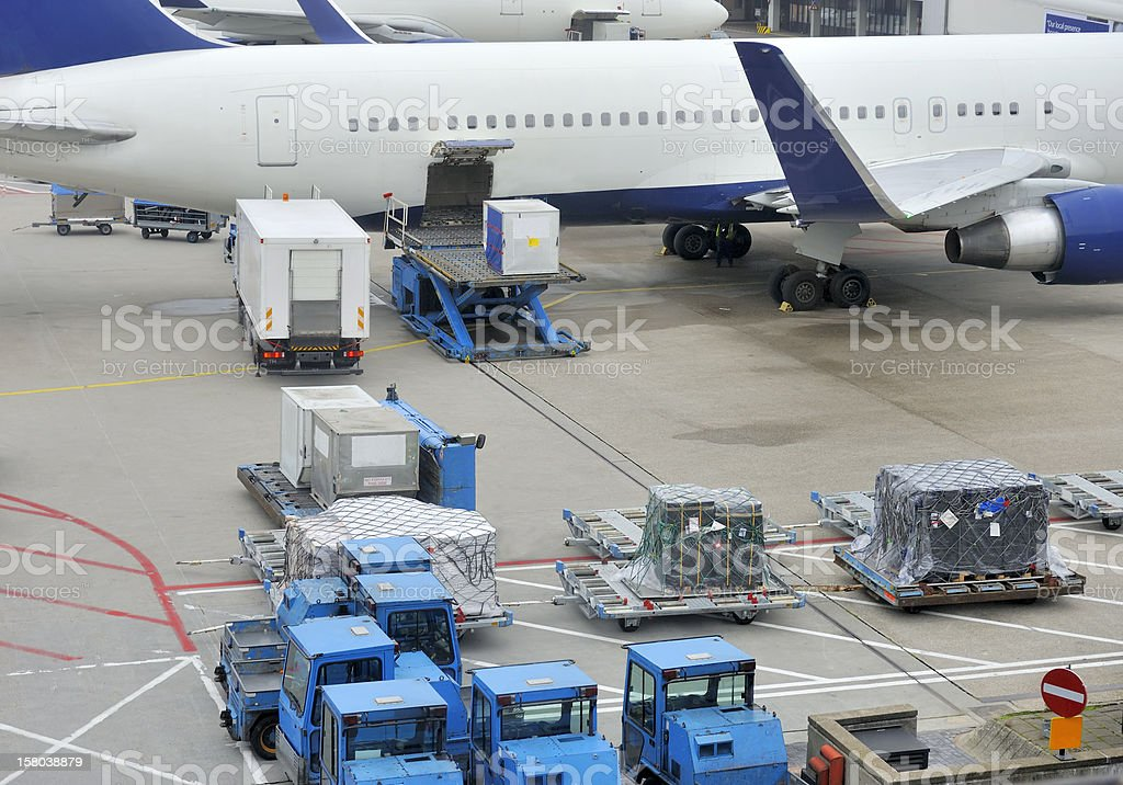 Airfreight stock photo