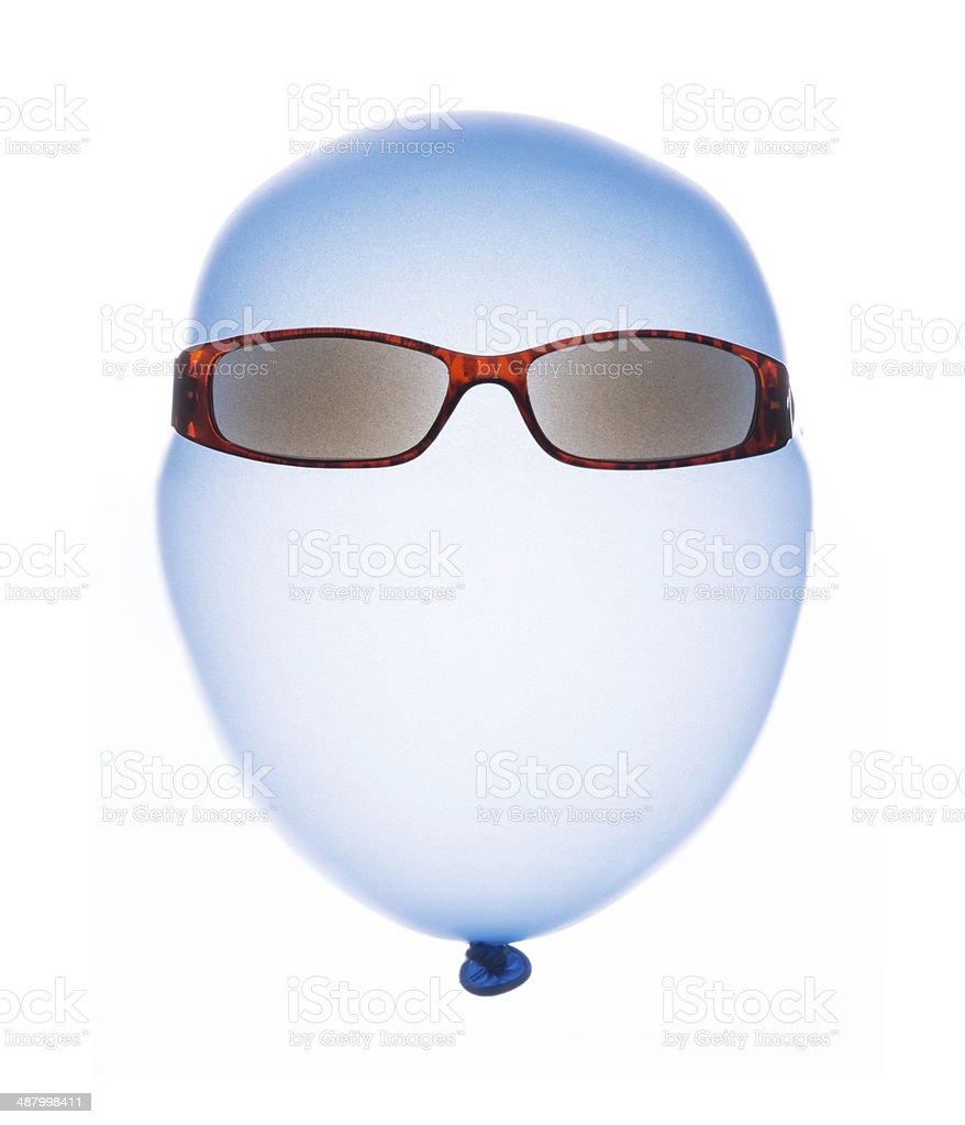 Airhead mr.Blue royalty-free stock photo