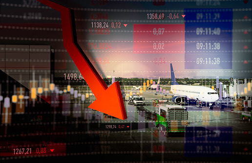 istock Airline Bankruptcy 1215526919