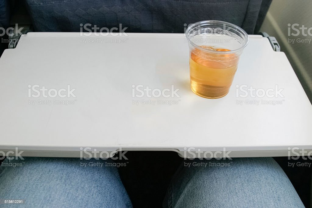 Airline cheapskates stock photo