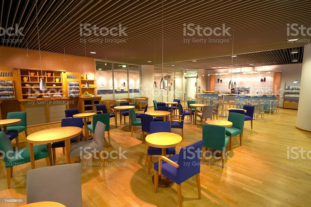 Airline Lounge royalty-free stock photo
