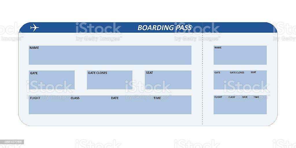 Pasaje aéreo foto de stock libre de derechos