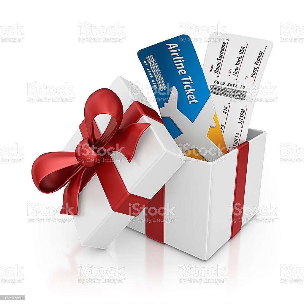 Les billets d'avion cadeau - Photo