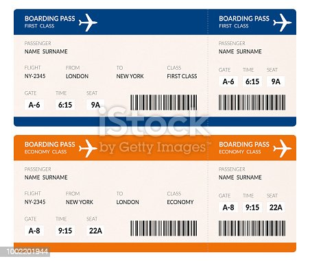 istock Airline Tickets 1002201944