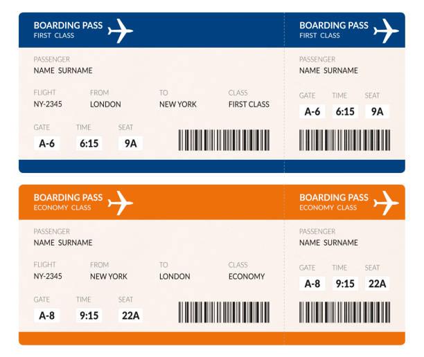 Flugtickets Tickets – Foto