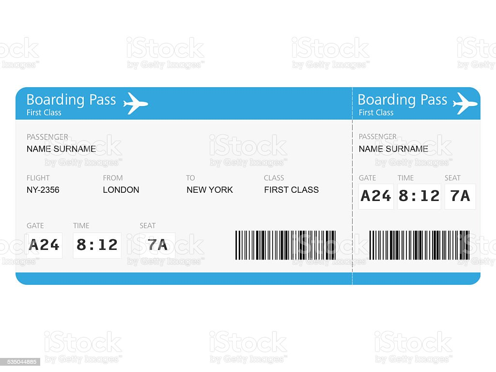 Airline Tickets Stock Photo - Download Image Now - iStock