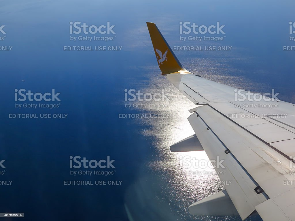 Airline Travel stock photo