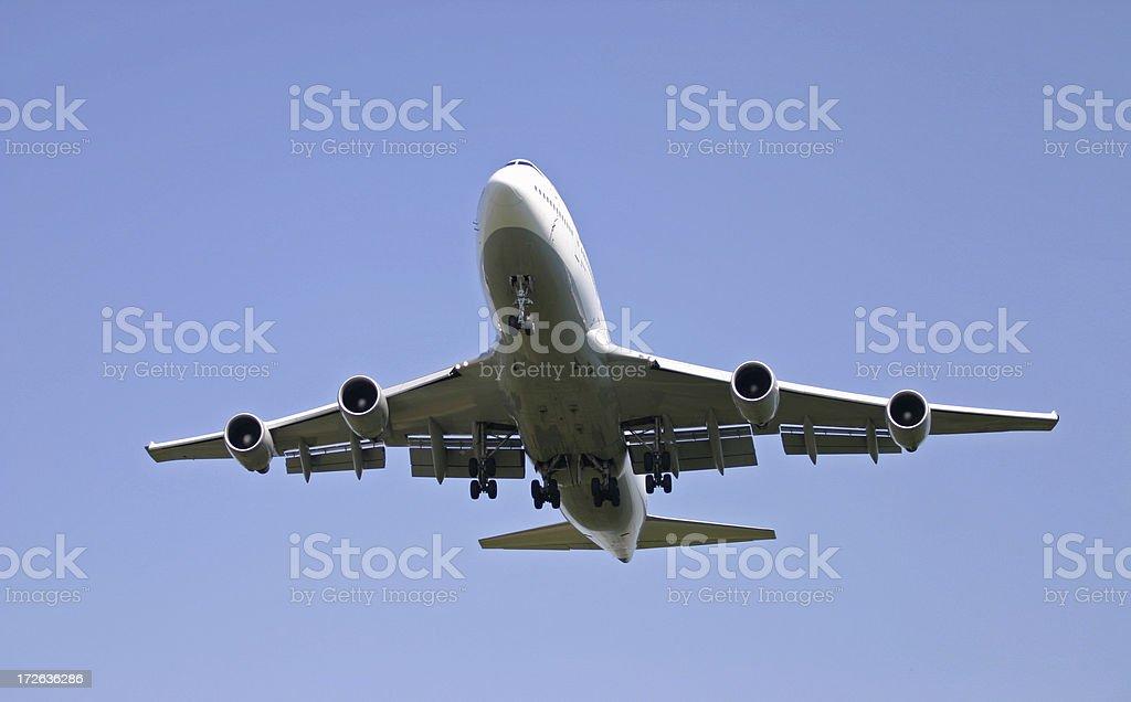 Airliner 747 Jumbo royalty-free stock photo
