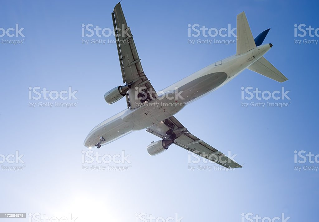 Airliner royalty-free stock photo