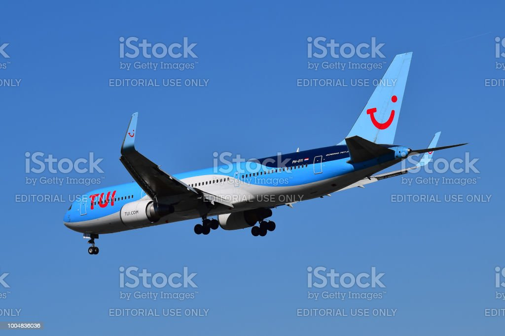 Tui Airlines Netherlands Boeing 767 Stock Photo & More